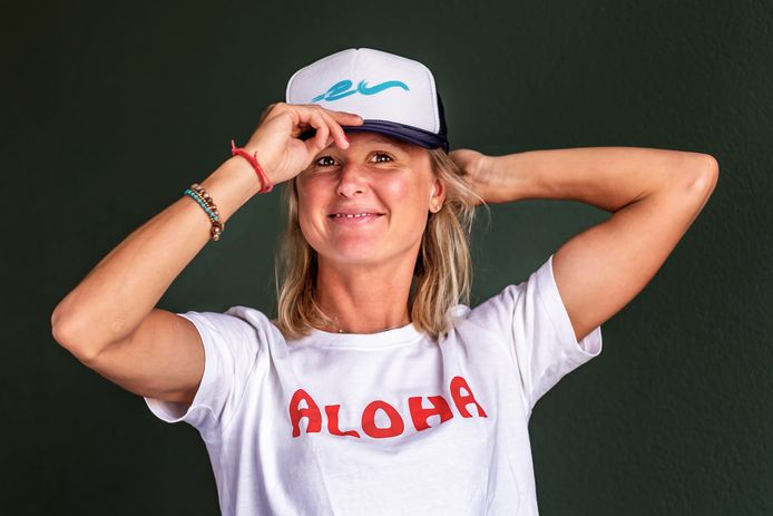 Triatlete Els Visser (29) deed als enige Nederlandse bij de profs mee bij het wereldkampioenschap Ironman op Hawaï.