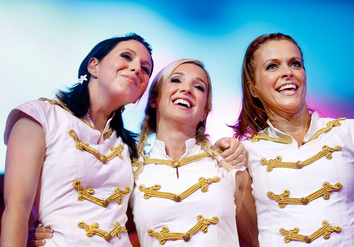 Karen, Kristel en Kathleen