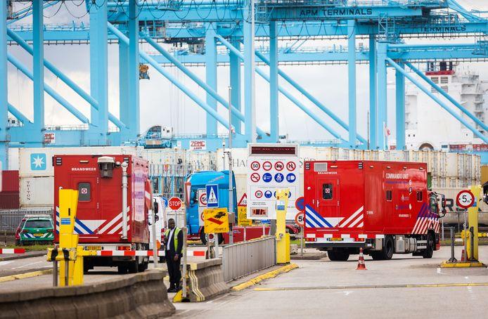 Afgelopen maandag verkeerden negen uithalers nog in levensgevaar, nadat de deur van hun container in het slot was gevallen en ze zonder zuurstof kwamen te zitten.