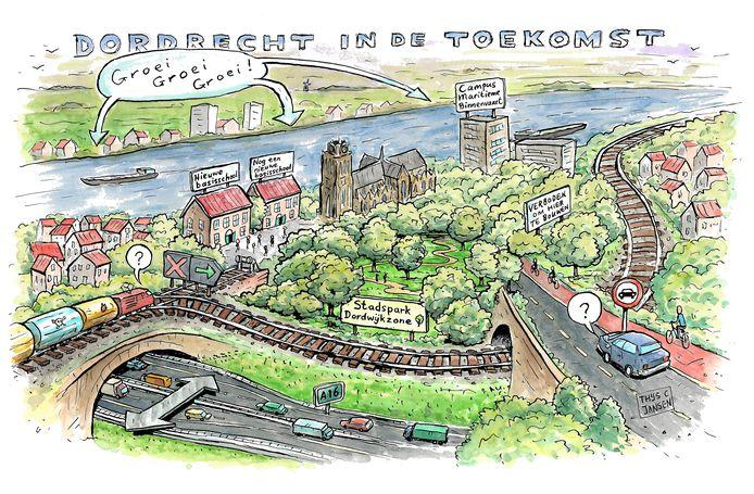 Dordrecht in de toekomst