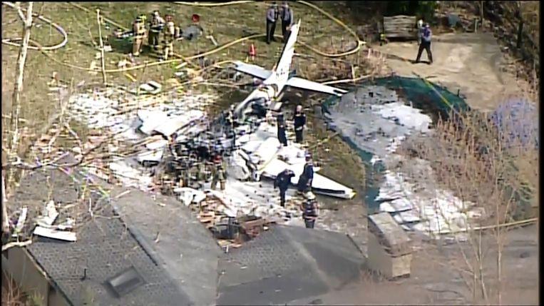 Vliegtuigcrash in Ohio
