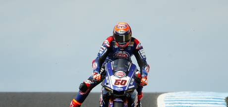 Van der Mark zevende in derde race WK superbike