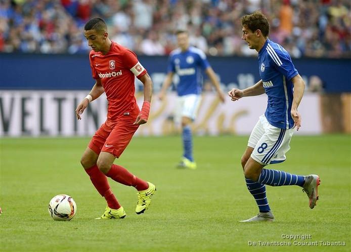 FC Twente oefende vorig seizoen ook tegen Schalke 04.