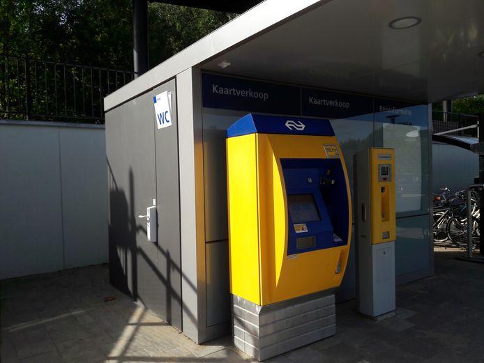 Toilet ook voor reizigers op station toegankelijk.