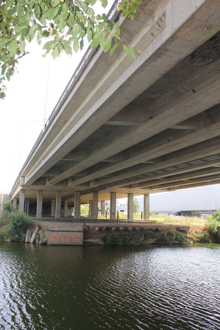 Het viaduct van Aalst.