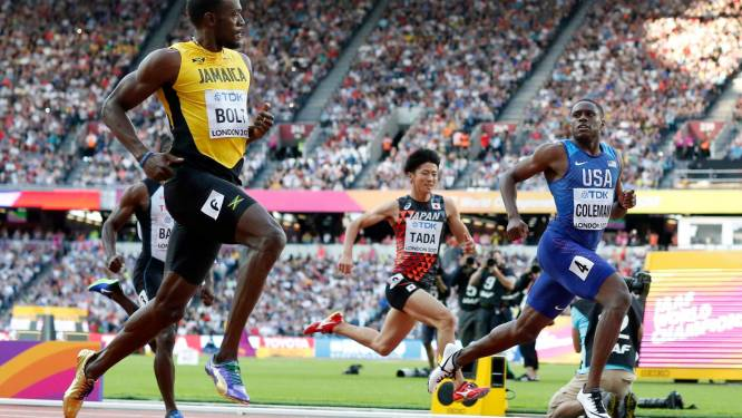 Battu par Coleman, Bolt se qualifie pour la finale du 100m