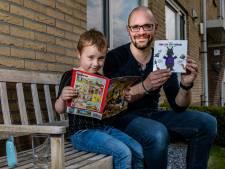 Dankzij corona kwam droom uit voor Bas Diemel uit Heeten: hij schreef kinderboek 'Papa kan niet heksen'