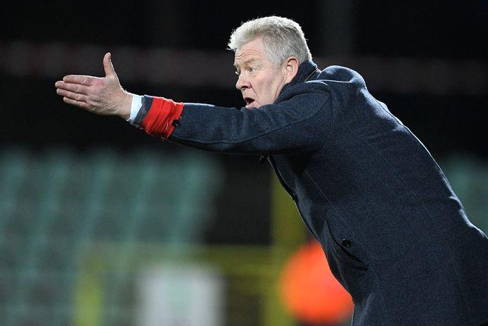 Lommel SK-coach Peter Maes.