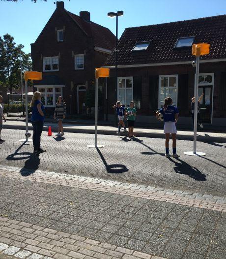 Kinderen genieten van Schijndelse Kinderboulevard