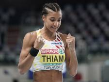 Nafi Thiam en patronne, Noor Vidts impressionne: deux Belges en tête du pentathlon