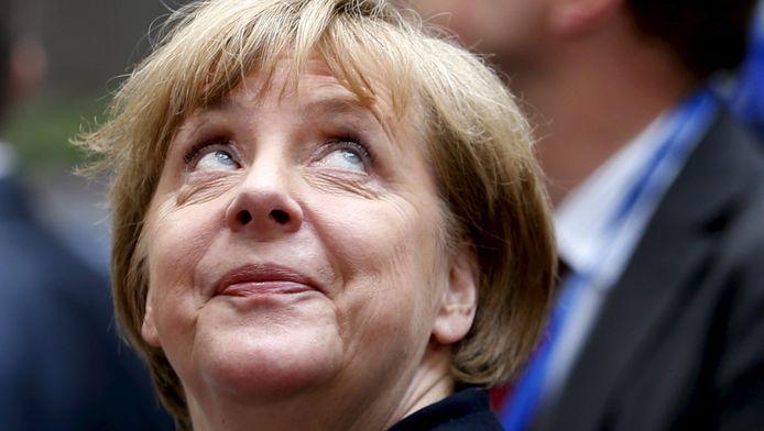 De Duitse bondskanselier Angela Merkel. De Griekse crisis leverde haar land al fors wat miljarden op.