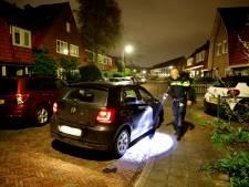 Auto vol lachgas crasht na achtervolging door politie