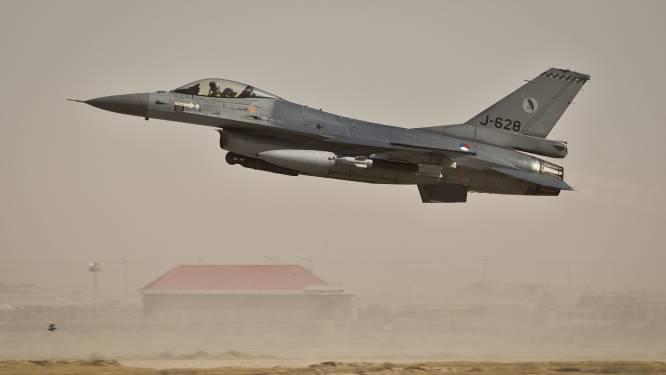Eerste Nederlandse bommen op IS-doelen Irak