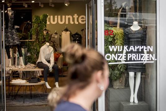 Winkel van Tuuntje aan het Van Heekplein in Enschede.