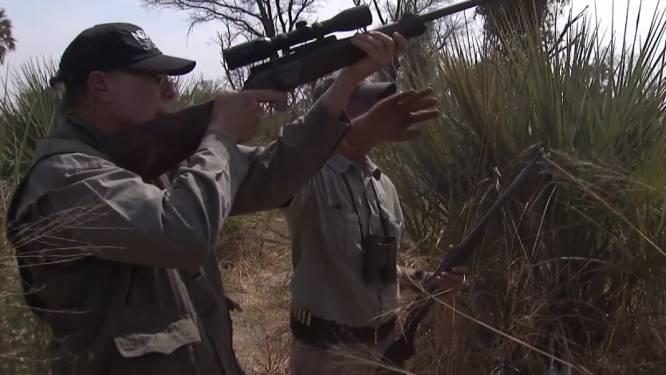 Ophef in VS over video waarin NRA-topman en zijn vrouw olifanten neerschieten en hun staart afhakken