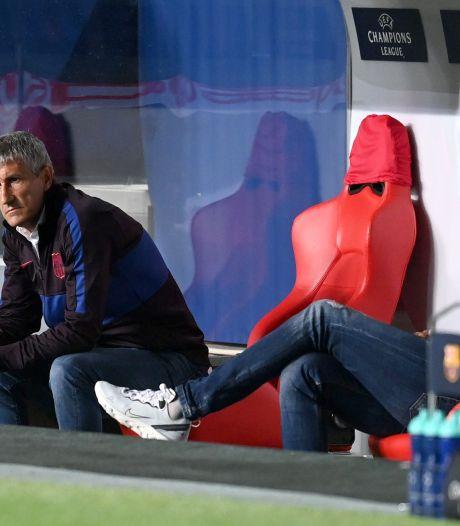 Barça-coach Setién voelt de bui hangen na 'vernederende en pijnlijke nederlaag'