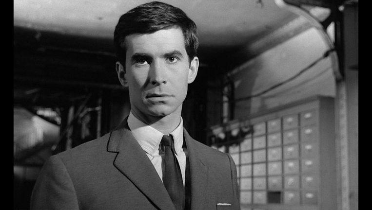 Anthony Perkins in the Trial. Beeld