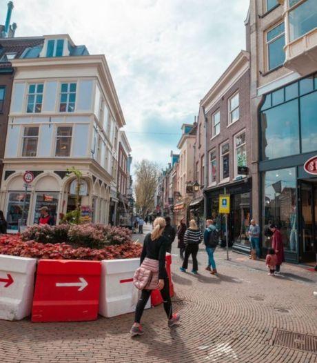 De 'coronatonde' op de Steenweg verdwijnt, maar D66 zou 'm graag behouden