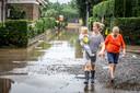Wateroverlast in Moelingen