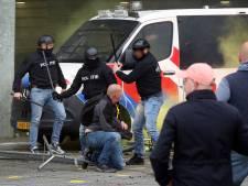 Vier van zeven verdachten hebben zich gemeld nadat beelden van rellen NAC-NEC zijn vrijgegeven