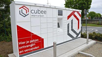 Binnenkort twee extra Cubee pakjesautomaten in Menen
