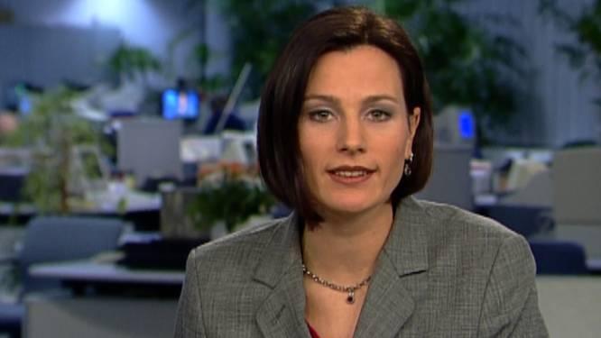 Na 23 jaar geen anker meer: dit was het eerste VTM NIEUWS van Birgit Van Mol
