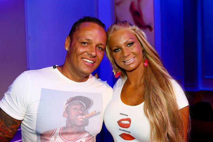 Samantha de Jong (Barbie) en haar echtgenoot Michael van der Plas.