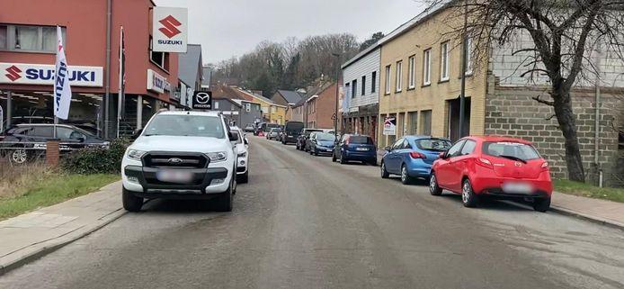 Mestspoor in Overijse - een ongeluk met een geurtje aan