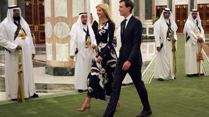 Ivanka Trump steelt show bij Saoedi's