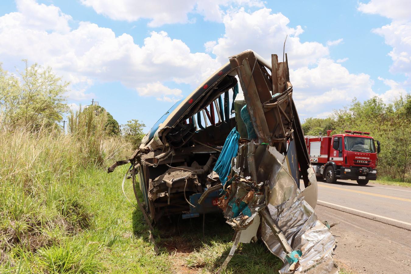 La semaine dernière, un accident de bus a fait 41 morts à Taguai, à 350 km de São Paulo