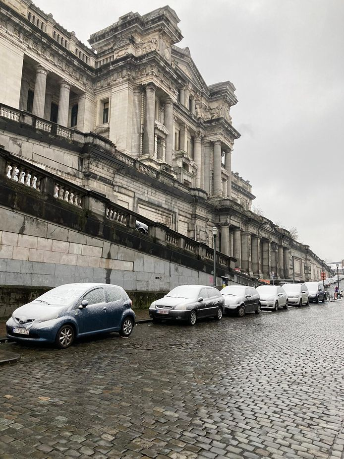 Ook Brussel moet het zonder een echt wit tapijt doen.