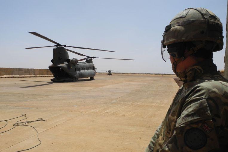 Een Britse soldaat in Mali. Foto ter illustratie. Beeld AFP