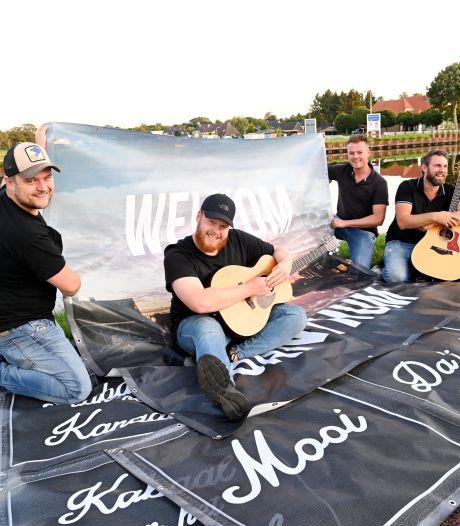 Tijd voor 'Kabaal aan het Kanaal', vindt pretband Band'um: nieuw festival in Bergentheim
