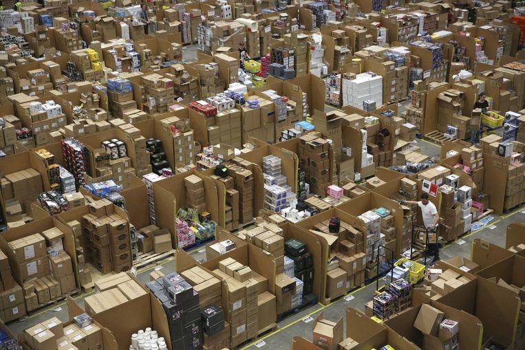 Amazon verwijderde vorig jaar wereldwijd 200 miljoen nepreviews voordat ze geplaatst konden worden. Beeld REUTERS