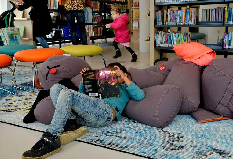 De openbare bibliotheek in Tiel. Beeld Hollandse Hoogte / William Hoogteyling