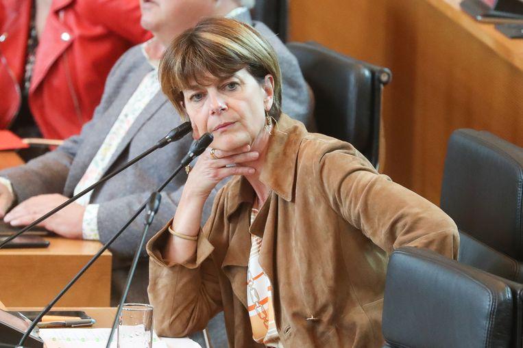 Valérie De Bue. Beeld BELGA