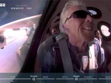 """Le milliardaire Richard Branson a atterri après son vol dans l'espace: """"Une expérience unique dans une vie"""""""