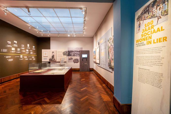 In het  Stadsmuseum is er in de komende maanden een expo over honderd jaar sociale huisvesting in Lier.