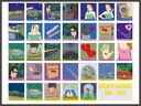 Radar Love geïllustreerd: 33 tekeningen voor de 33 zinnen waaruit de wereldhit van Golden Earring bestaat is het kunstwerk van Marcello en Els.