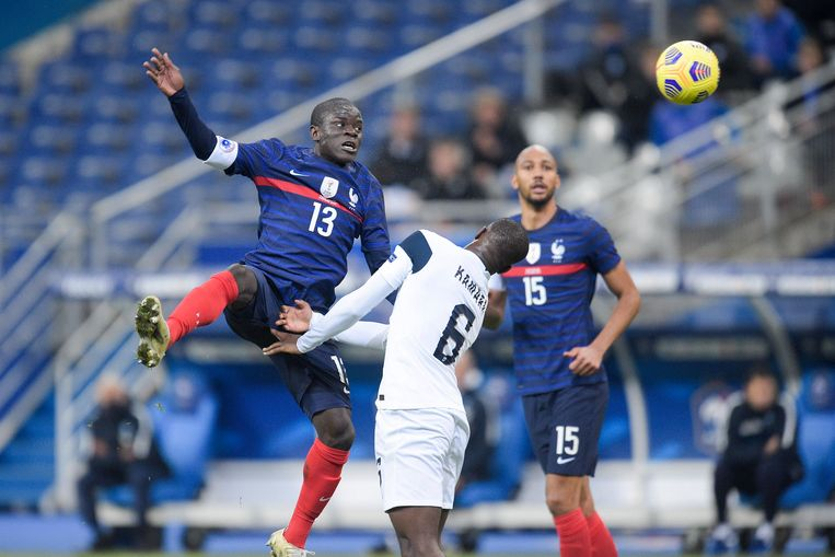 Ngolo Kanté (l) Beeld BSR Agency