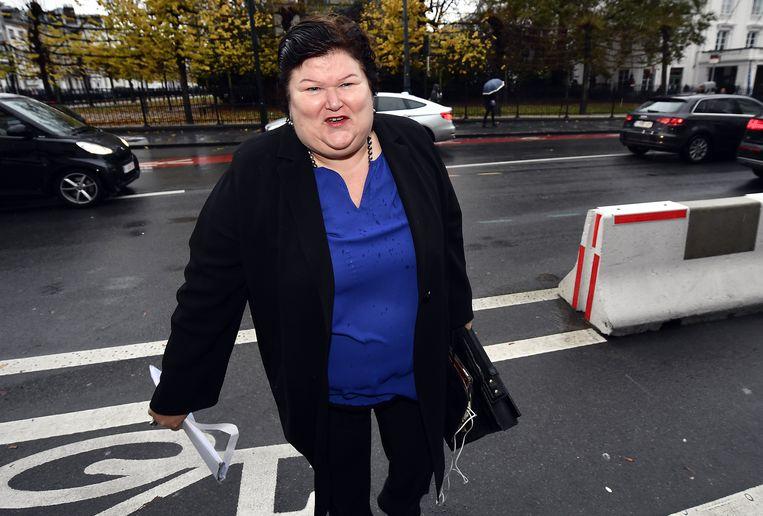 Maggie De Block, minister van Sociale Zaken en Volksgezondheid (Open Vld). Beeld BELGA