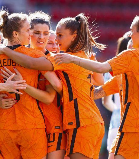 Uitzwaaiwedstrijd Leeuwinnen in Zwolle: voor het eerst weer voor volle tribunes