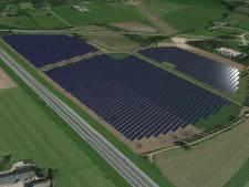 Overleg over zonnepark Bankhoef: greppel en poelen om tegenstanders tegemoet te komen
