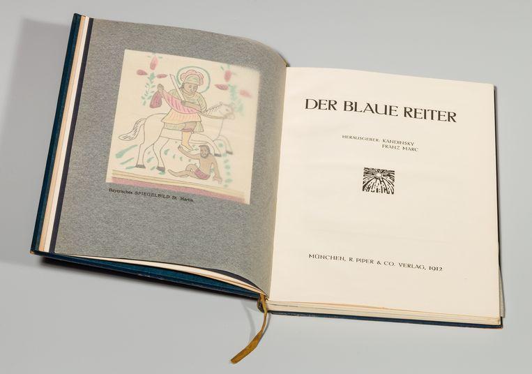 Almanak Der Blaue Reiter Beeld RV