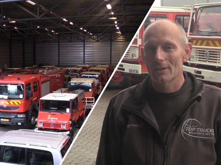 Dit bedrijf verkoopt tweedehands brandweerauto's aan landen over de hele wereld