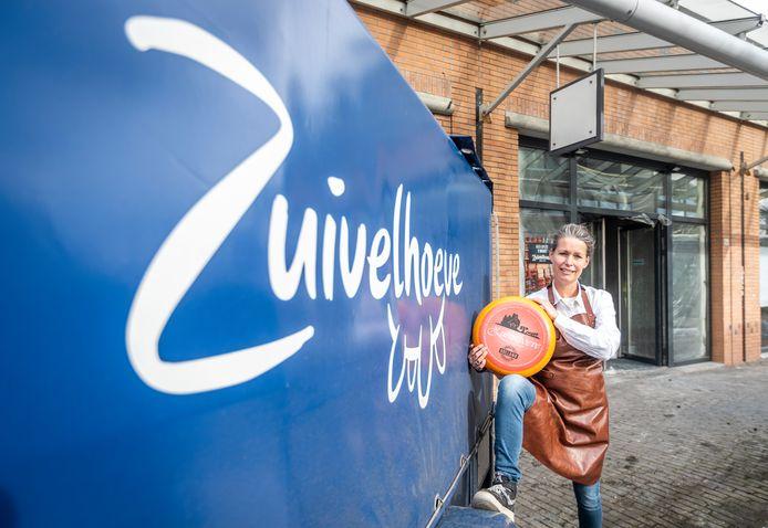 De Waalrese Corine Hagenaars opent op 2 maart in het Aalster winkelcentrum een vestiging van de Zuivelhoeve.