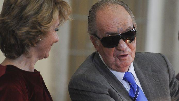 Juan Carlos, afgelopen november.