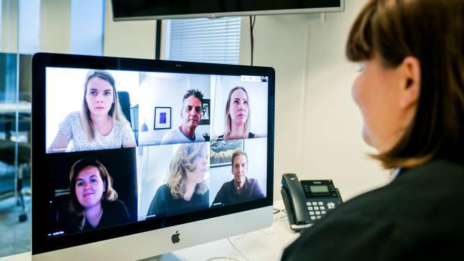 Zo gaat videovergaderen minder moeizaam: 'Plak een post-it over je eigen gezicht'