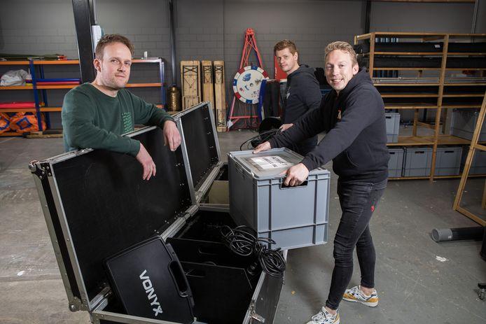 Maarten Teun Nijmeijer, Yoeri Maas en Jur Maatman gaan samen verder onder de naam BresVerhuur.