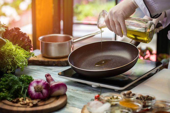 Is bakken met een koekenpan gevaarlijk?